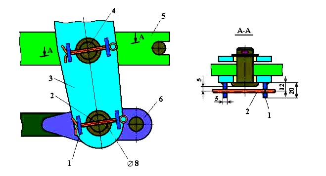 Головка тяги тормозной рычажной передачи вагонов 5756-08.02.05.101-ПФ1 - фото tormoza_35_6.PNG