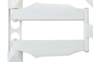 "Кронштейн TUAREX ALTA-24 (max 55"" 45kg), 22"" -65"", до 45 кг, белый - фото alta-24-cabel.jpg"