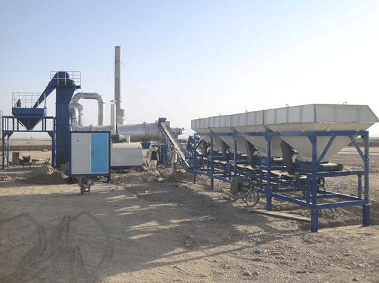 Асфальтобетонный завод DHB-40 барабанного типа (40 т/ч) - фото 1