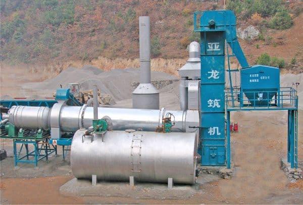 Асфальтобетонный завод DHB-60 барабанного типа (60 т/ч) - фото dhb 60