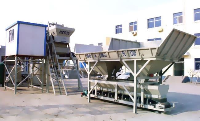 Бетонный завод HZS 35 (35 м3/ч) - фото HZS 35