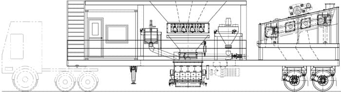 Мобильный асфальтобетонный завод YLB 800 (64т/ч) - фото 4