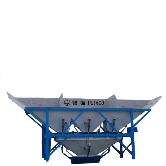 Кирпичный завод QTY10-15 - фото Бункер инертных материало pl1600