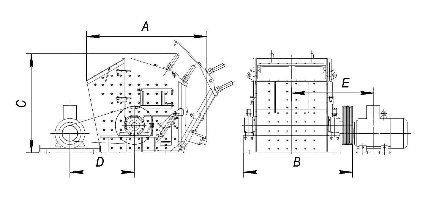 Роторная дробилка серии PFW - фото 2