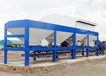 Асфальтобетонный завод DHB-60 барабанного типа (60 т/ч) - фото система подачи