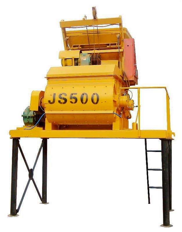 Бетонный завод HZS 25 (25 м3/ч) - фото js 500