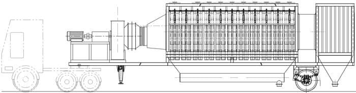 Мобильный асфальтобетонный завод YLB 1500 (120т/ч) - фото 4