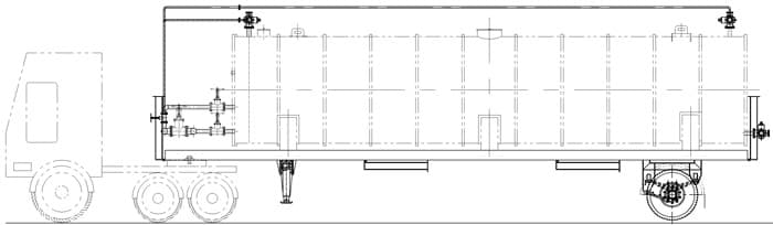 Мобильный асфальтобетонный завод YLB 800 (64т/ч) - фото 8