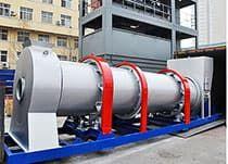 Асфальтобетонный завод DHB-60 барабанного типа (60 т/ч) - фото Система смешивания