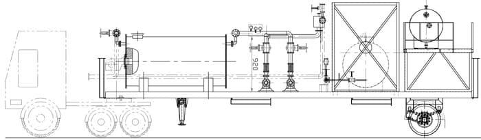 Мобильный асфальтобетонный завод YLB 800 (64т/ч) - фото 7