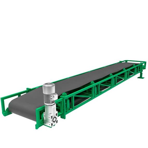 Кирпичный завод QTY10-15 - фото транспортёр ленточный