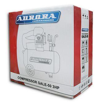 Компрессор Aurora GALE-50 - фото упаковка компрессора Aurora