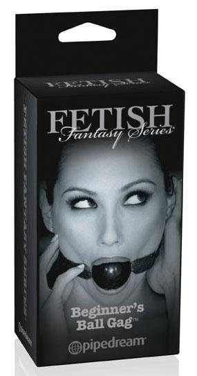 Черный кляп-шар Fetish Fantasy Series Limited Edition Beginner's Ball Gag