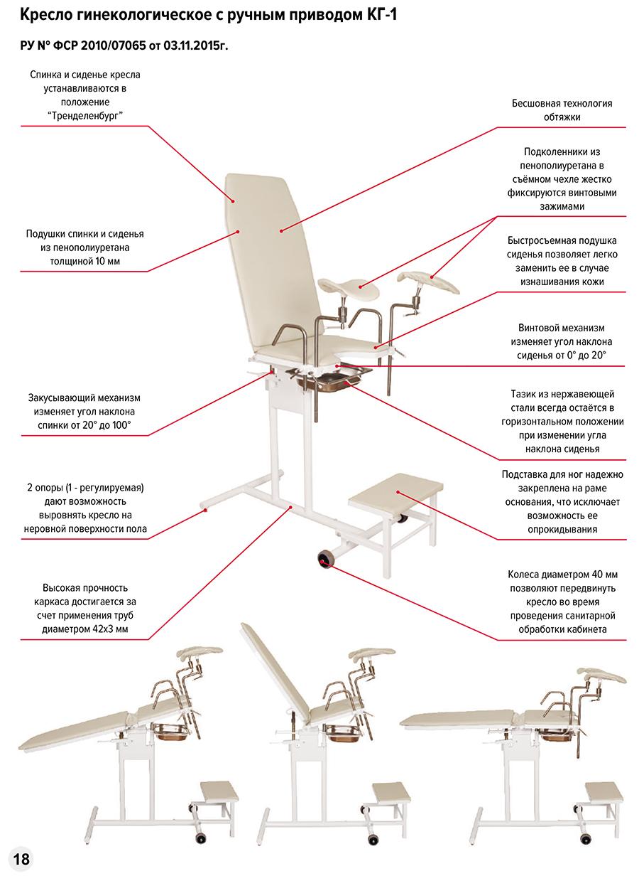 Кресло гинекологическое КГ-1 - фото %D0%9A%D0%93-1.jpg