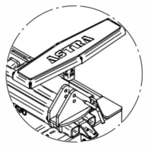 Подъемник ножничный AE 100.1 Astra Minilift мобильный пневматический 2.5т (Испания) - фото дизайн