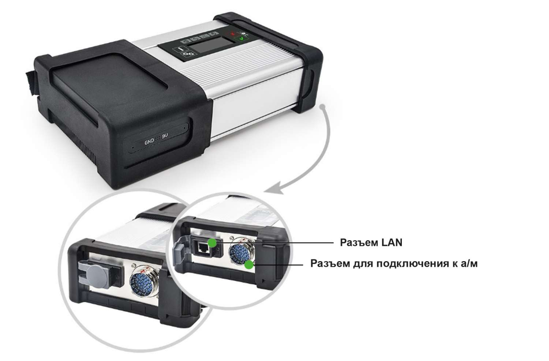 Дилерский диагностический сканер ScanChip Mercedes SD Connect C5 ПРЕМИУМ (на базе ПК) - фото Mercedes SD Connect 5