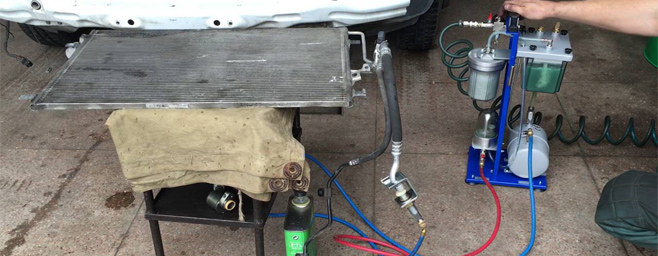 AC7500S GrunBaum Станция для заправки автокондиционеров с технологией безразборной промывки SMART FLUSHING - фото ac7500s_4_1.jpg