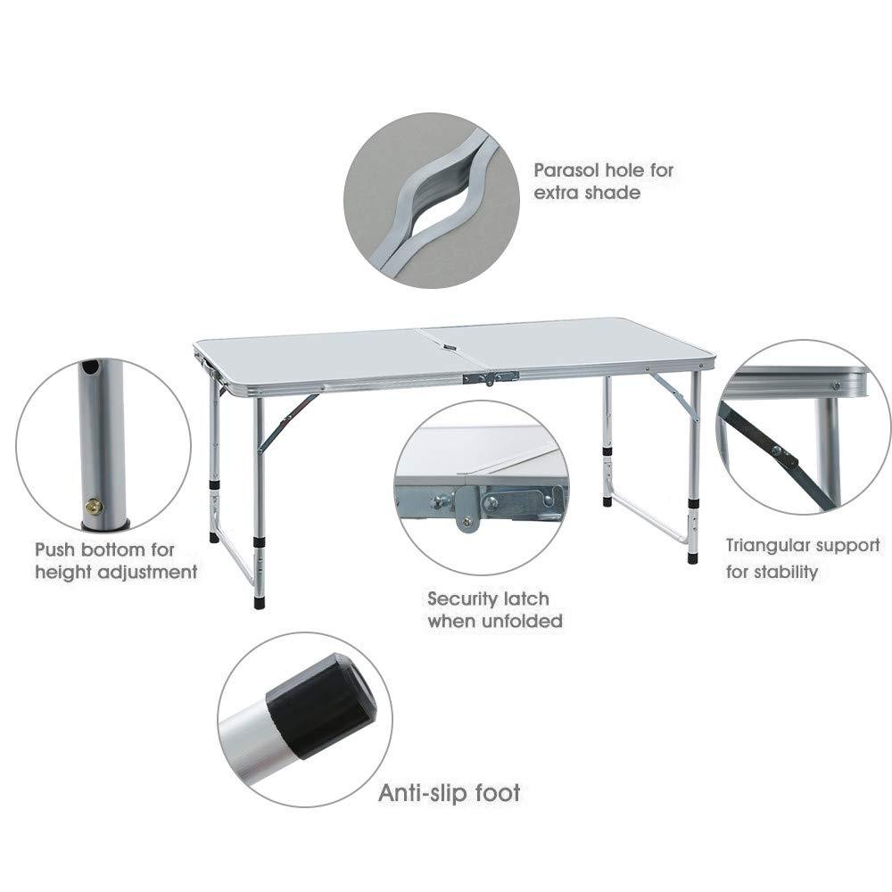 Стол складной, 4 стула цвет светлый или темный длина 120см ширина 60см высота 55см - фото HTB1_3APaxiH3KVjSZPfq6xBiVXa2.jpg