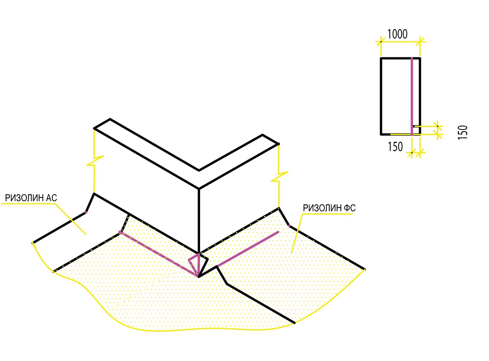 Руководство по устройству и ремонту мягкой кровли из самоклеящегося рулонного гидроизоляционного и кровельного материала «Ризолин» - фото 8