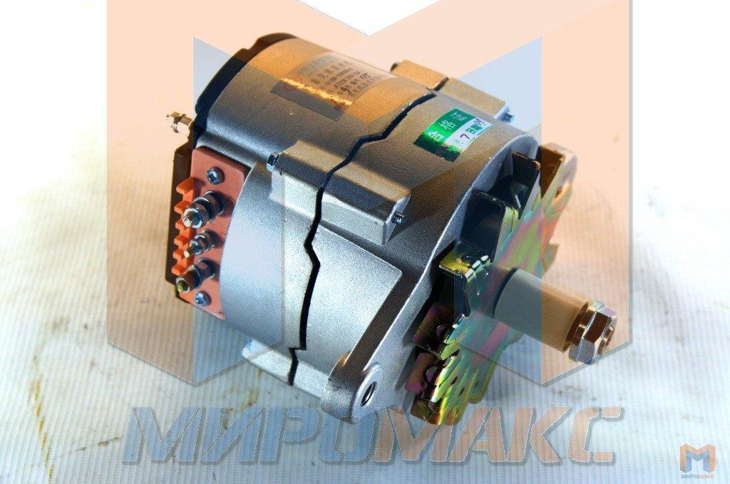 JFZ256, Генератор 28V, 55A двигатель Shanghai C6121