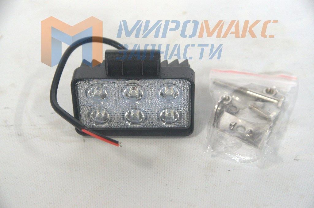 X006 18W, Фара светодиодная X006 18W 6 диодов по 3W