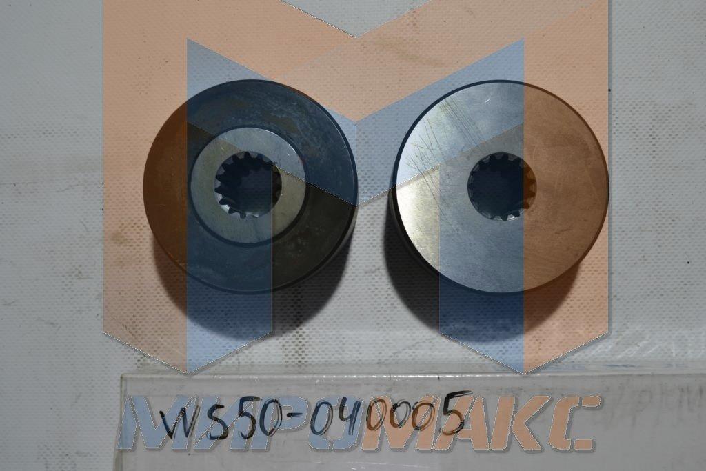 WS50-040005, Муфта (между ДВС и основным насом) FORWAY