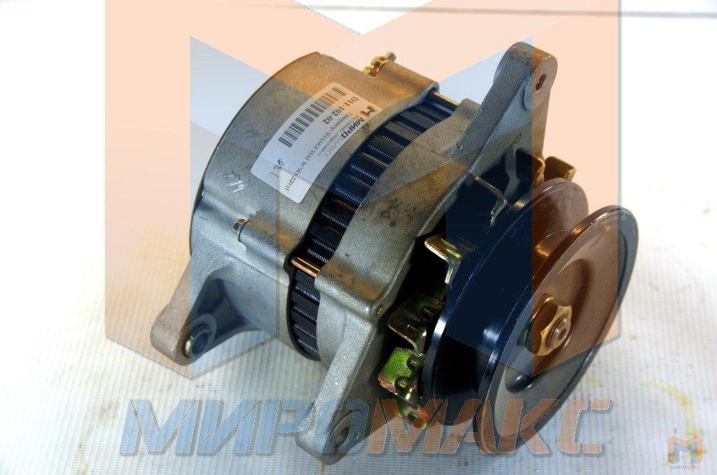 D11-102-02, Генератор Shanghai SC9D-220 (Шкив под клиновый рем.)