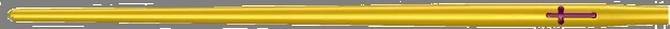 Алюминиевая форма на 36 мест для литья простых иерусалимских свечей №40 - фото 2
