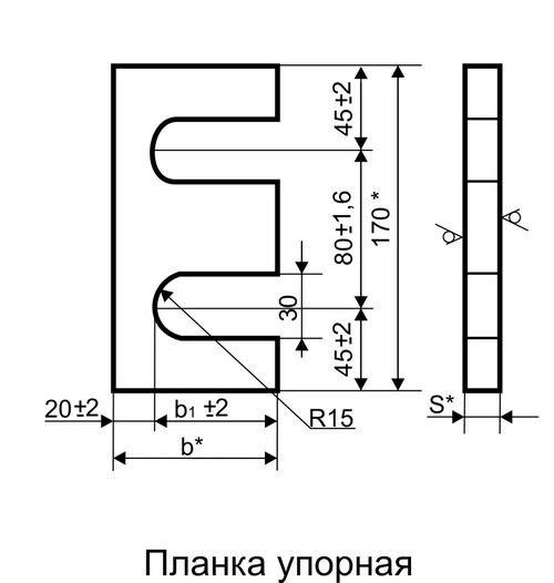 Комплект планок упорно-прижимных П1У1 ГОСТ 24741-2016 - фото pic_adc1e8adcdf479e_1920x9000_1.jpg