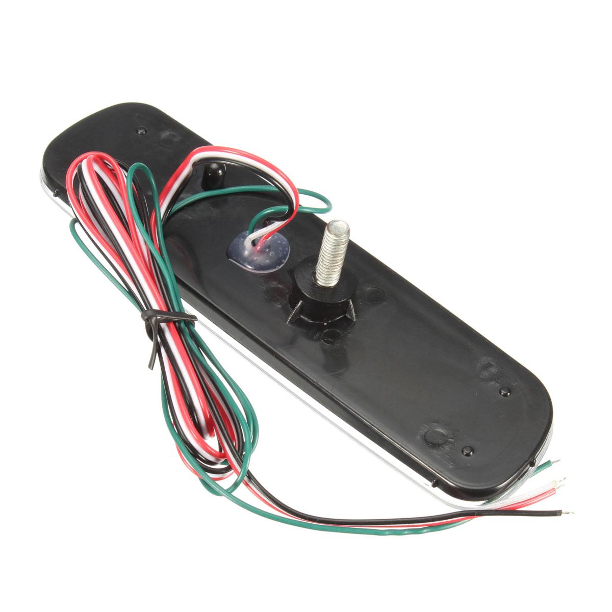 Пара задний бампер отражатель LED тормоз хвост свет сигнала поворота противотуманная фара для LEXUS LX470 - фото 6