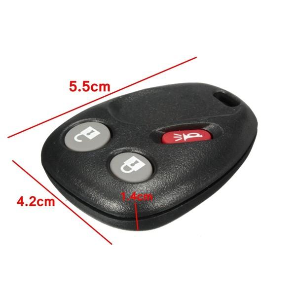 Ключ 3 кнопки дистанционного ключа электроники контроля доступа брелок для г 21997127 lhj011 - фото 2