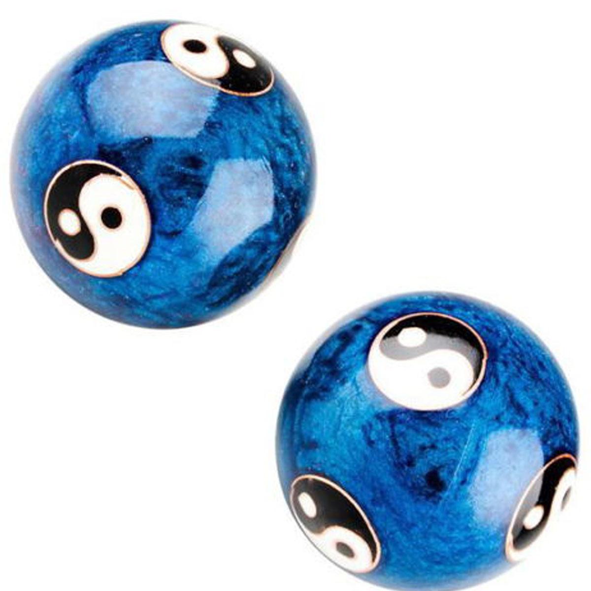 Китайский Здоровье Ball Ежедневный Упражнение Стресс Relief Гандбол Терапия Massager Balls - фото 6