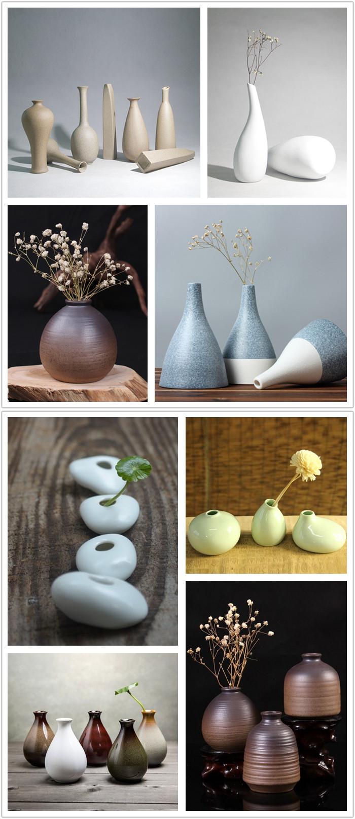 Zakkz глазурью керамические вазы украшения ручной работы Aroma Бутылка цветов подарок гончарного декора - фото fe5ee221-0f87-4098-bde8-88929f981807.jpg