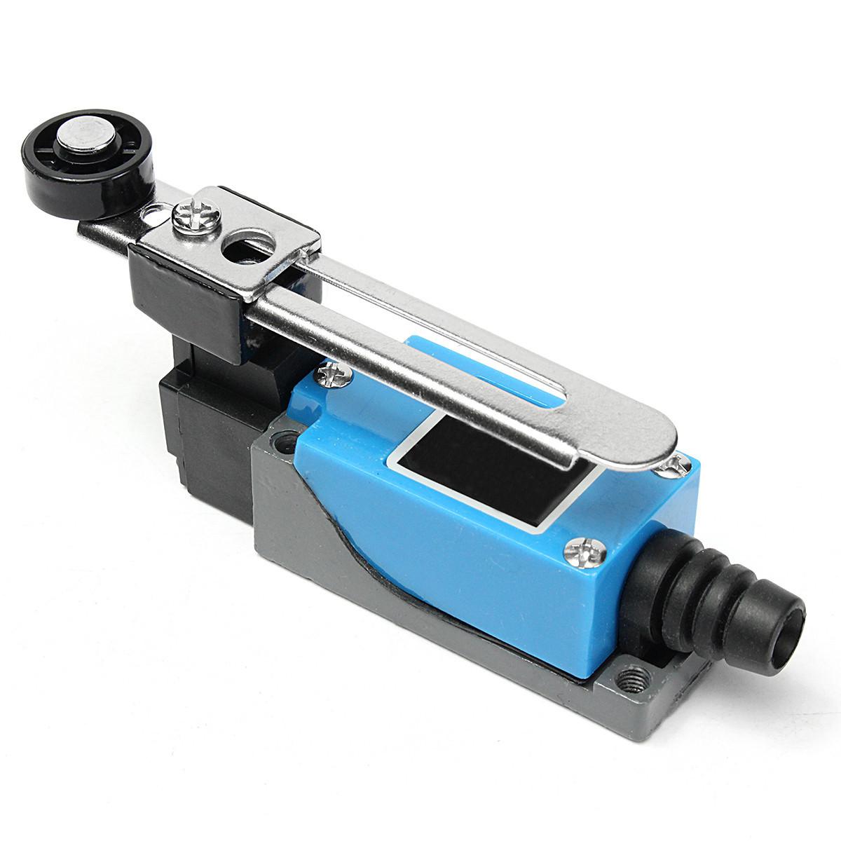 Excellway® 5шт. Предельный выключатель AC 250V 5A Регулируемый поворотный рычаг Ролик - фото 3