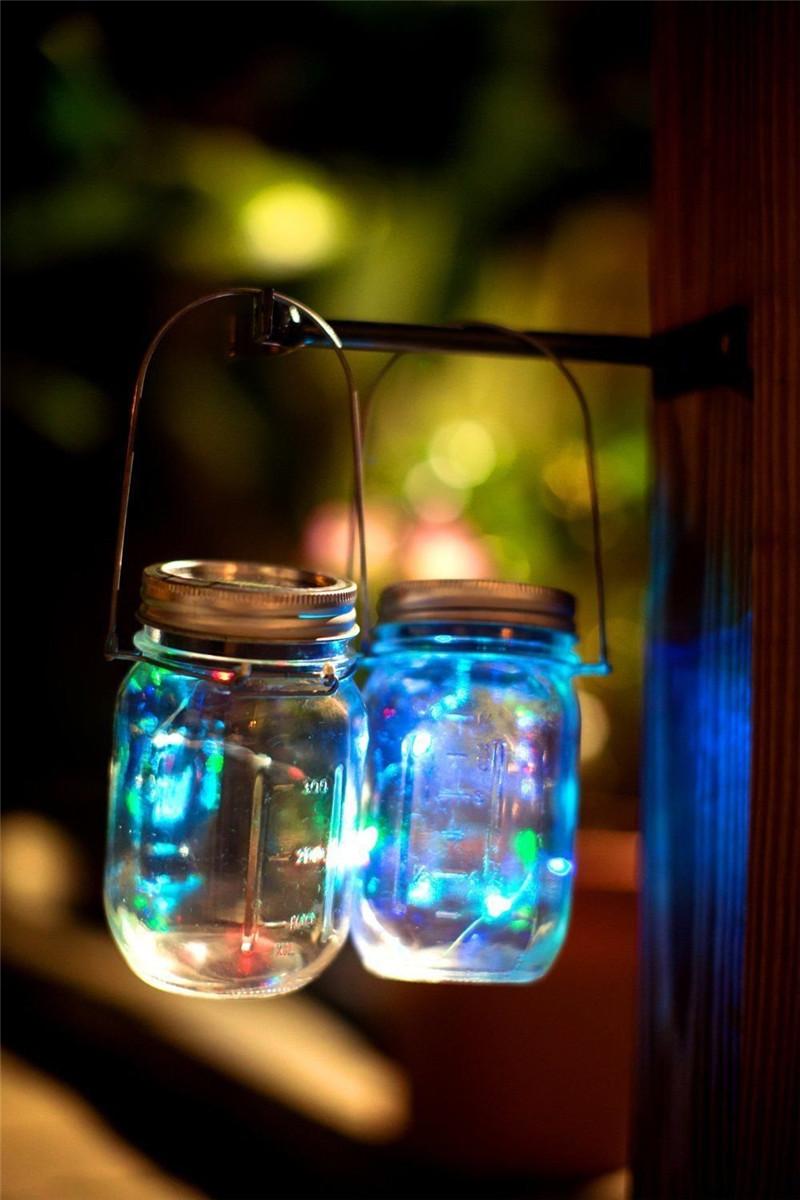 Батарея Powerиздание 10M Водонепроницаемы Четыре режима Опция Серебряный Провод Fairy String Lights For Xmas Party - фото 7