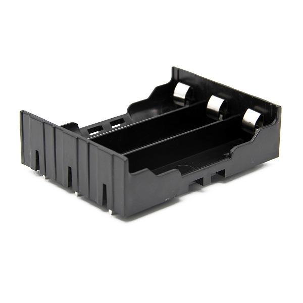 5pcs поделки 3-слот держатель батареи 18650 с булавками - фото 2
