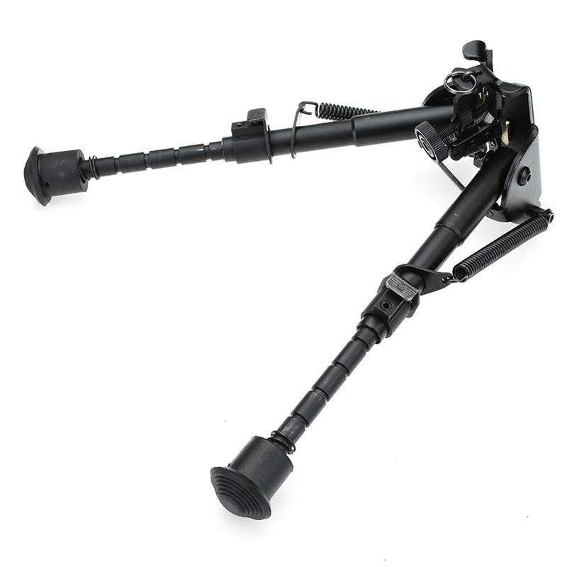 Регулируемая тактическая сопка Сошка пулемета 6-9 дюймов с пружинным креплением - фото 6
