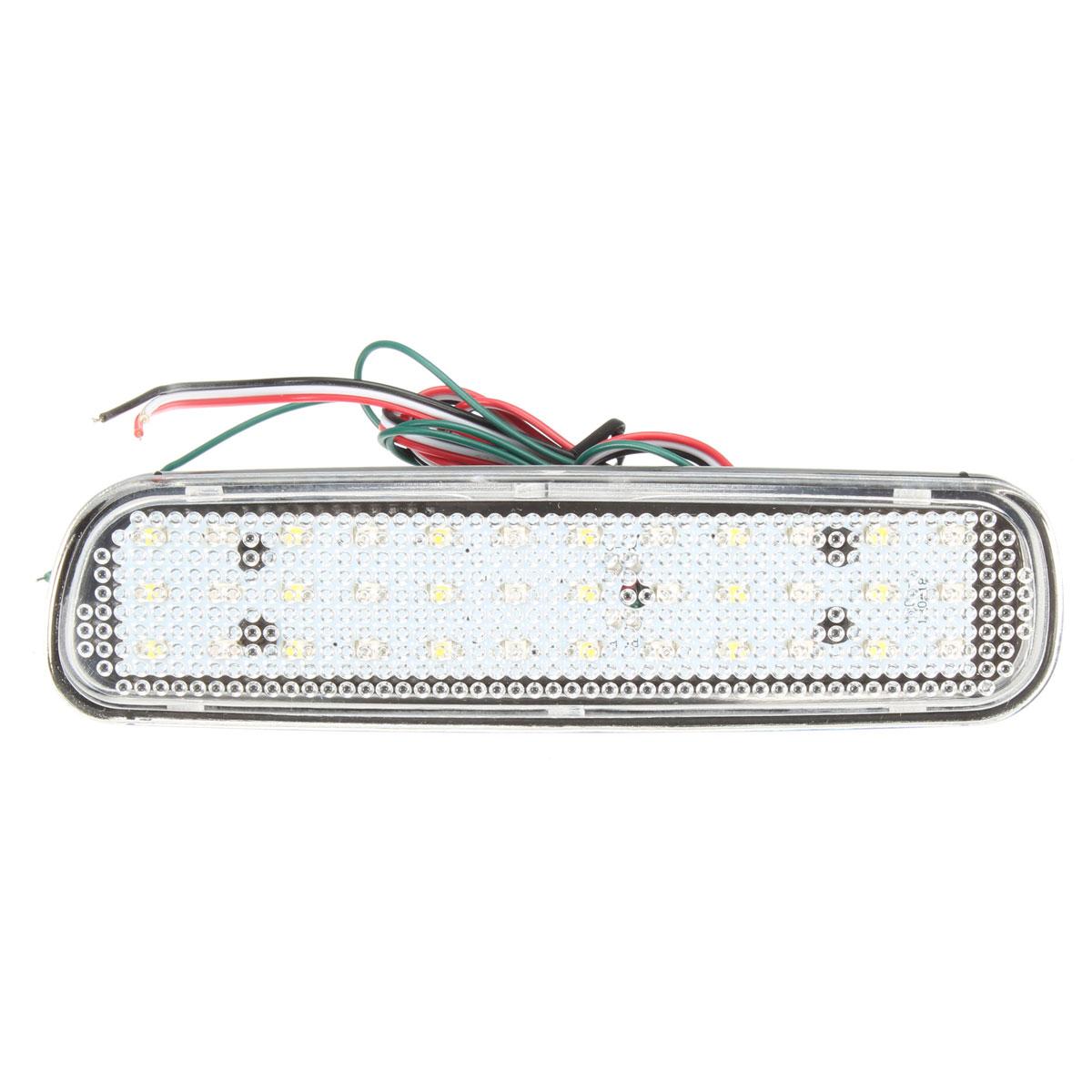 Пара задний бампер отражатель LED тормоз хвост свет сигнала поворота противотуманная фара для LEXUS LX470 - фото 4