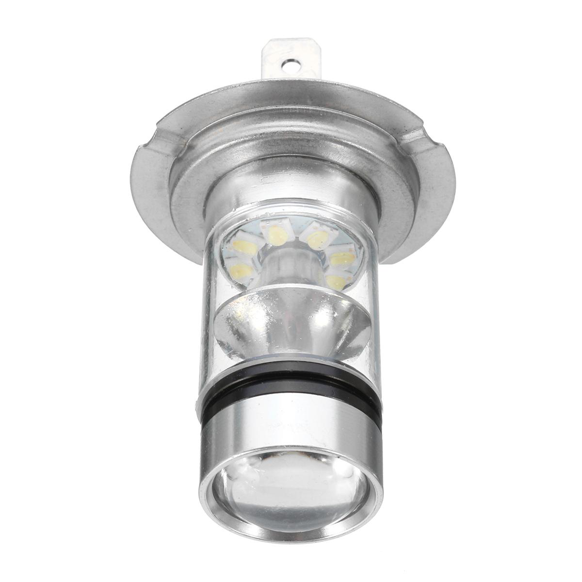 2X 100W 12-24V H7 LED Фары Противотуманные хвостовые ксеноновые лампы - фото 4