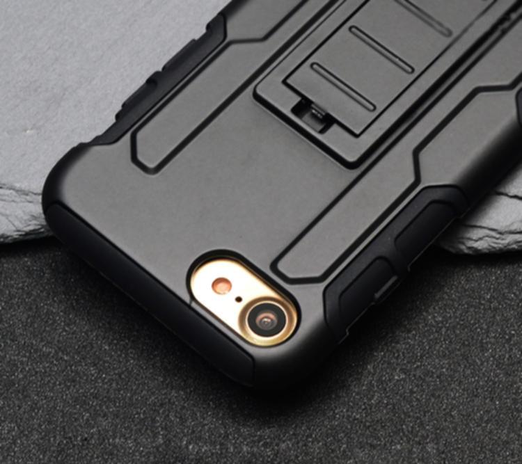 Броня регулируемая Kickstand Чехол для iPhone 7 и iPhone 8 - фото 9