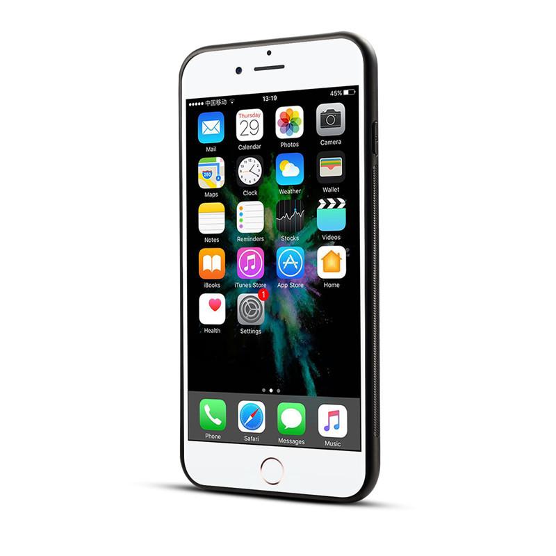 BakeeyПечатныйцветокНескользящийжесткийПК TPU Защитный Чехол для iPhone X/7/8 Plus - фото 3