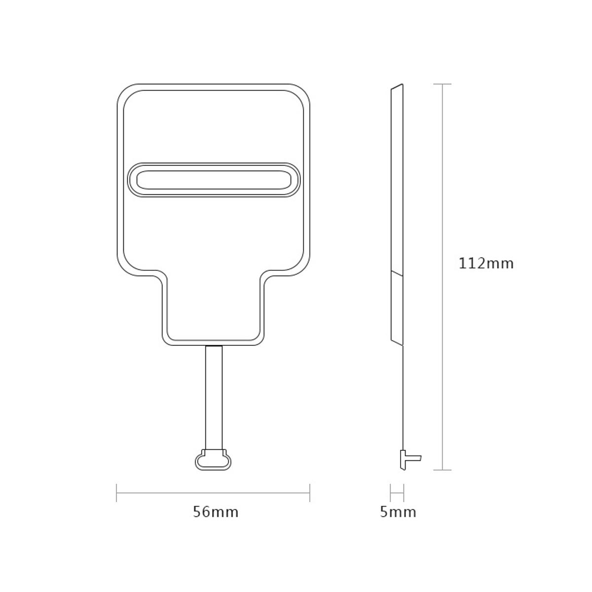 Bakeey Micro USB Qi Беспроводное зарядное устройство Приемник Для Redmi 5 Plus Примечание 5 4 4X S7 S6 - фото 10
