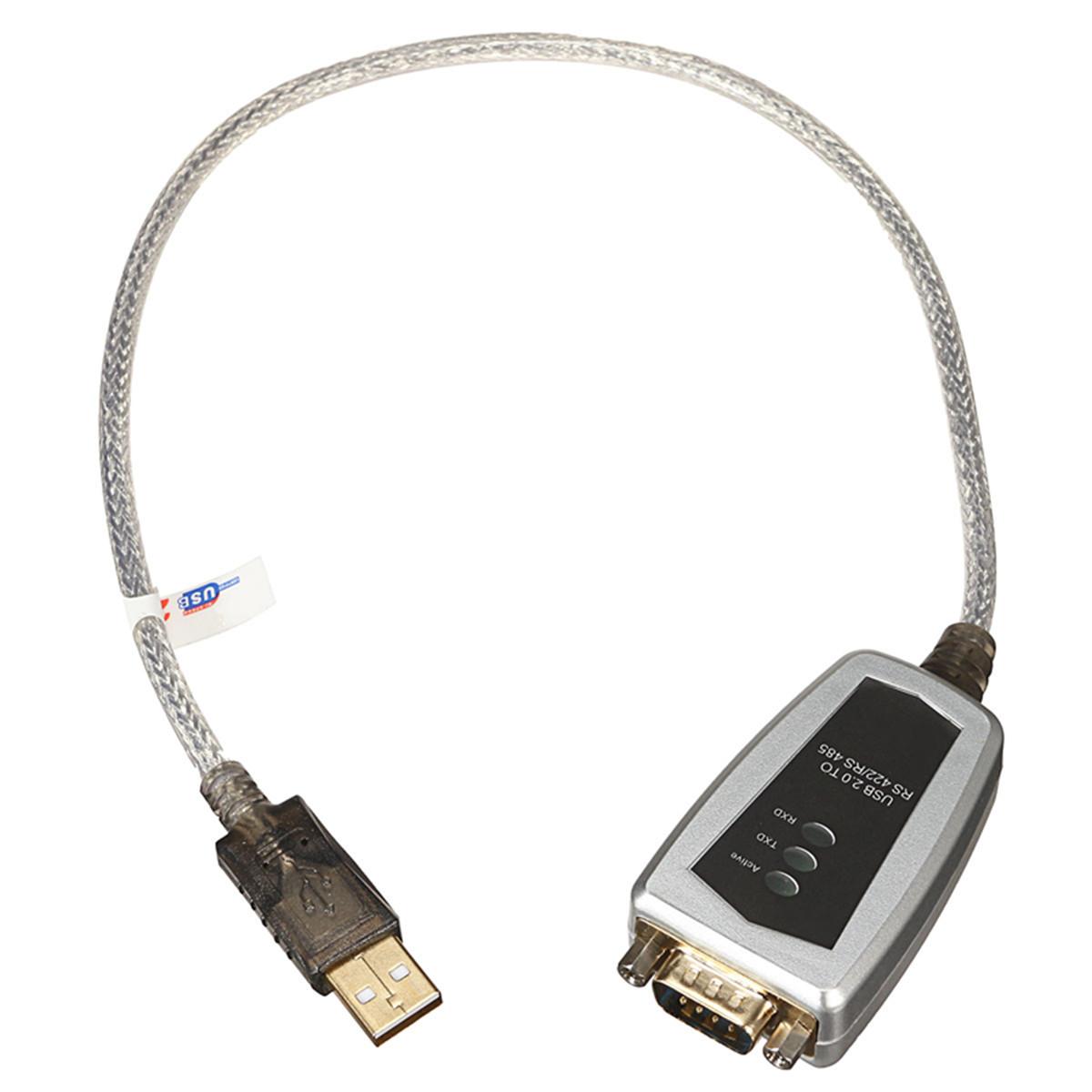 USB до RS485 RS422 Последовательный DB9 к переходному кабелю последовательного преобразователя Termi - фото 3