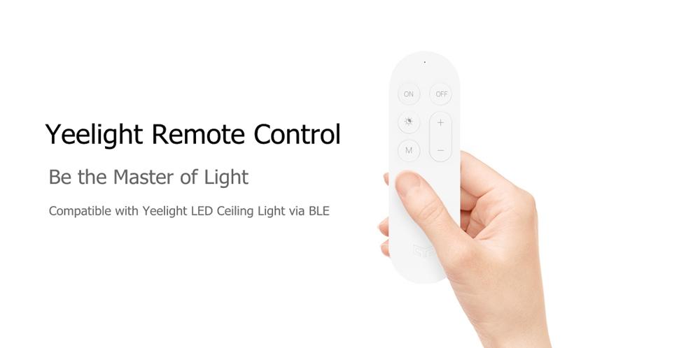 Yeelight Дистанционное Управление Передатчик для потолочного освещения Smart LED Лампа (продукт Xiaomi Ecosystem) - фото 1