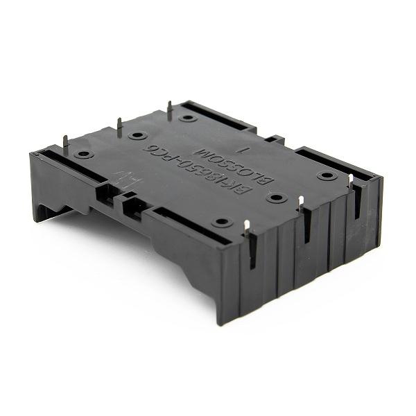 5pcs поделки 3-слот держатель батареи 18650 с булавками - фото 3