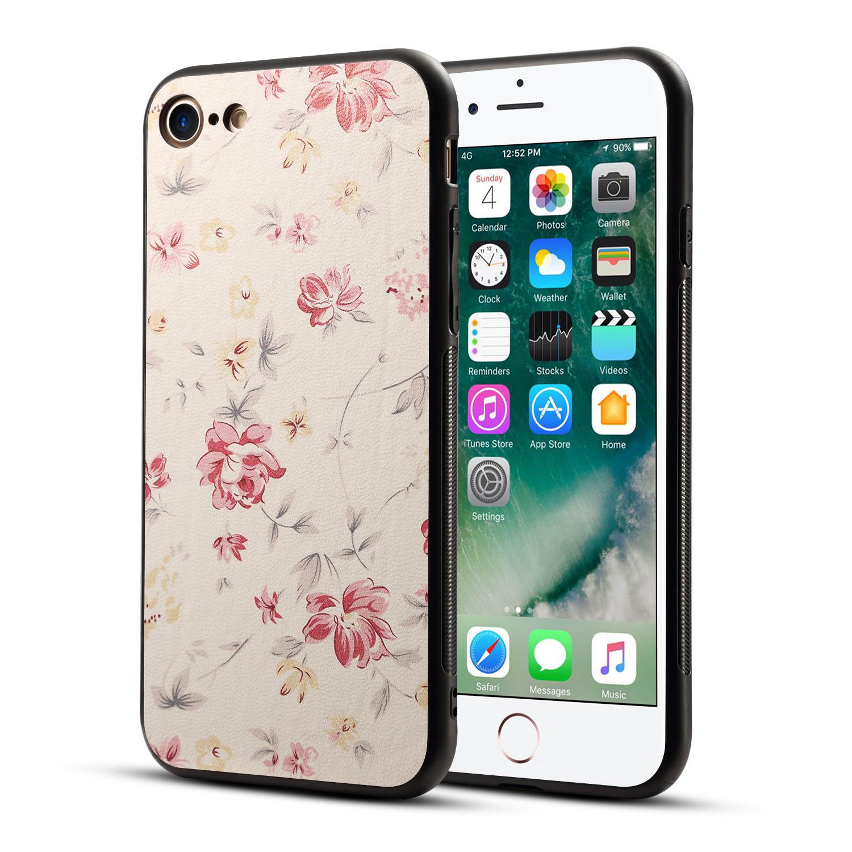 BakeeyПечатныйцветокНескользящийжесткийПК TPU Защитный Чехол для iPhone X/7/8 Plus - фото 7