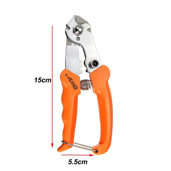 MTB велосипед кусачки плоскогубцы тормоз инструмент механизм переключения резки кабеля ремонт зажим - фото 3