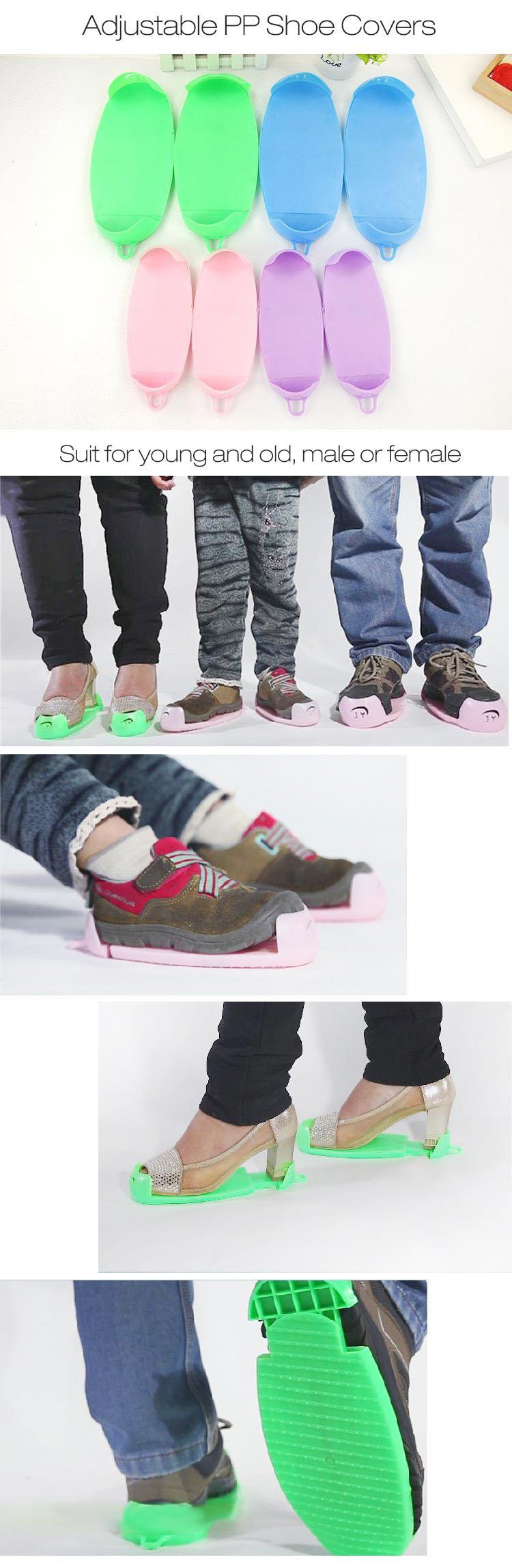 Honana HN-SC01 Регулируемые чехлы для обуви Прочные моющиеся чехлы для обуви с антискользящим покрытием - фото 1