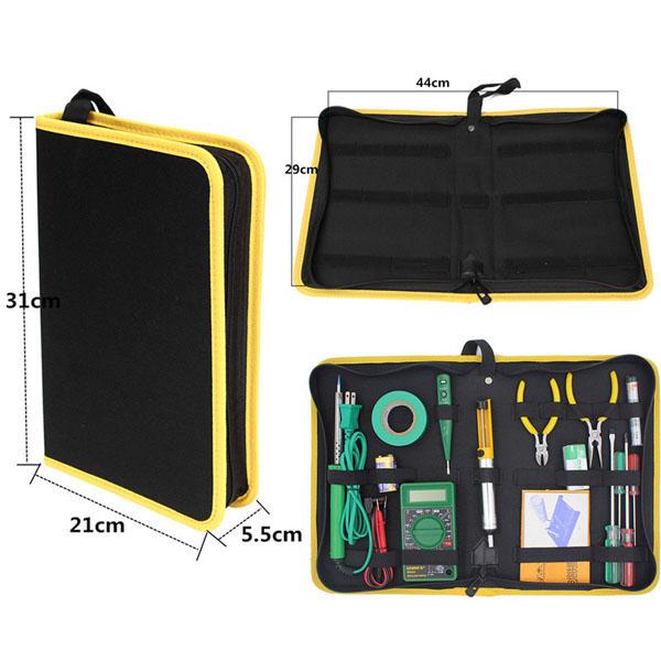 Капитального ремонта долг сумка для инструментов почтовый случай организатором хранения инструмента в удобном S / M / L - фото 2