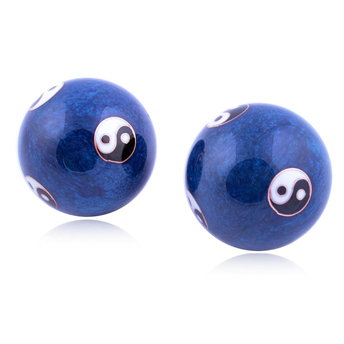 Китайский Здоровье Ball Ежедневный Упражнение Стресс Relief Гандбол Терапия Massager Balls - фото 2